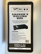 Zen Smokers Rolling Tray Box Convenient Storage For Roll Your Own Cigarette Fans