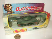 Rare Matchbox Battle Kings K-109 M-551 Sheridan And Commander And Infantry Figures