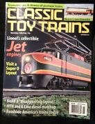 Classic Toy Trains 2001 November Lionel Jet Engines Disappearing Layout