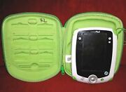 Leapfrog Leap Pad 1 Original With Stylus And Storage Case Green White Leap Frog