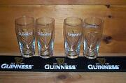 Guinness Beer Mat Bar Coaster And 4 Guinness Galaxy Style Pint Glasses New