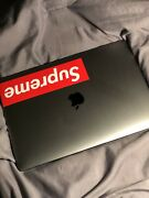 Apple Macbook Pro 13 Laptop 128gb - With Supreme Logo June 2017 Space Gray