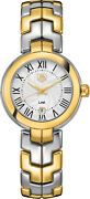 Brand New Authentic Tag Heuer Link Two Tone Womenand039s Dress Watch Wat1452-bb0955
