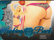 2019 Benchwarmer 25 Years Peggy Tanous Ice Blue And Red Looking Back Butts /1 1/1