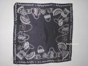 Lulu Guinness You Can Never Have Too Many Bags Print Silk Scarf Nwt