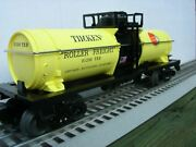 Lionel 6-81200 Timken U.s. Made Tank Car First Time Done Tanker New In Box Usa
