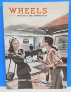 Wheels 1948 July August American Car And Foundry Aluminum Tank Cars