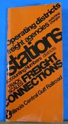 Illinois Central Gulf Railroad Stations Districts Freight Agencies Freight Conn