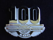 2003 100 Harley Davidson 100th Anniversary Sterling Silver Pin Phase 2 Limited
