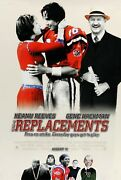The Replacements Movie Poster B 11 X 17 Inches - Keanu Reeves Poster Football