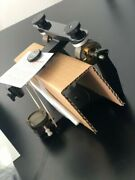 Hanau Wide-vue Semi-adjustable Articulator With Case And Free Mounting Plates