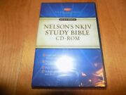 Holy Bible Nelson's Nkjv Study Bible Cd-rom New King James Version Sealed New