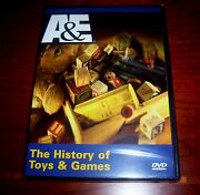 Toys And Games American Toy Game History Antiques Antique Collector Aande Dvd New