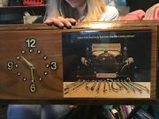 Vintage Snap-on Tools Wall Clock Mercedes Benz Rare Clock. Very Good Condition