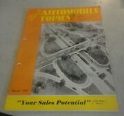 March 1949 Wards Automotive Topics Magazine ''your Sales Potential''
