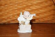 Precious Moments Figurine Our Future Is Looking Much Brighter Cruise Exclusive