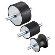 Rubber Shock Absorber Vibration Isolator Mounts With M8 M10 M12 Studs