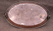 French Copper Cookware Au Gratin Egg Casserole Copper Oval Pan Tin Lined 19