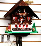 Lotscher 1 Day Musical Cuckoo Clock- Heidi And The Musicians, Swiss Made 2108m