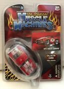 2007 The Original Muscle Machines Rare 1971 Chevy Camero Series 3 Red 1/64 Moc