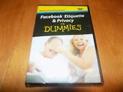 Facebook Etiquette And Privacy For Dummies Social Network Networking Norms Dvd New