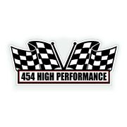 454 Air Cleaner Engine Decal Big Block Bbc Classic Rat Race Motor Or Muscle Car