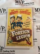 1950 Abbott And Costello Original Movie Poster 17x11 In The Foreign Legion /504