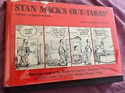 Stan Mack's Out-takes Hardcover Dust Jacket Hilarious Cartoons