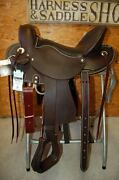 16 G.w. Crate Performer Saddle Made In Bryant Alabama