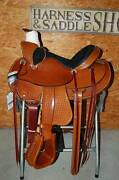 17 G.w. Crate Ranch Roping Saddle Made In Bryant Alabama