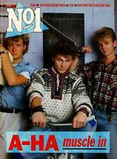 A-ha On Magazine Cover 4 January 1986  Paul Young  Fish Of Marillion  King