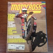 Motocross Action April 1980 Rm250 Sidecar Winter Series Best And Worst Used Bikes
