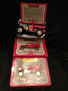 Speccast Sinclair Oil 1925 Ford Model A Pumper Die-cast Coin Bank New/box And Tin