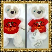Authentic 2007 Disney Hidden Mickey 14 White Collectible Pre Duffy Bear