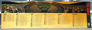 Unique 1990 Mets/shea Collectible-laminated Schedule-fans-11 X 35-panoramic View