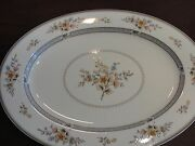 Mikasa Chippendale Looks New Oval Platter 17 1/8 Very Rare