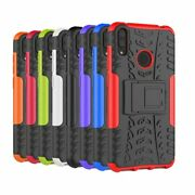 3d 2in1 Dual-layer Shockproof Rugged Case Anti-slip Defender Armor Cover Huawei