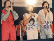 The Monkees Signed 11x14 Photo By 3 Coa + Proof Davy Jones Peter Tork Autograph