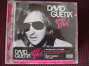 David Guetta - One Love Cd Parental Advisory.disc Is In Excellent Condotion.
