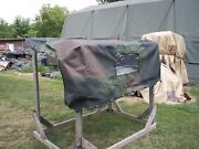 Military Truck M939 Cover 5 Ton Fitted Vehicular Army Surplus 12450238-1 Camo Us