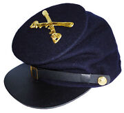 American Civil War Union Enlisted Cavalry Badged Forage Cap Hat Large 58/59cms