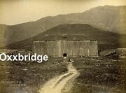 China Sze Yuen Ming Mule Litter Military Fort Chinese Imperial Albumen Photo