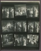 Clark Gable And Susan Hayward 1955 Soldier Of Fortune Photo Contact Sheet J6638