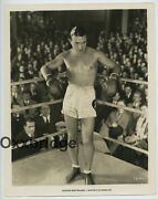 Richard Barthelmess The Patent Leather Kid 1927 Base Chested Boxer Handsome Hunk