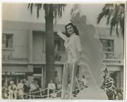 Ruth Hampton 1952 Ms New Jersey Sexy Swimsuit Pinup Miss Usa Pageant J6720
