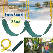 2 Pcs Outdoor Heavy Duty Swing Swinging Seat Kit Set Accessories Replacement