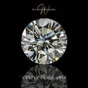 24.06ct Round Cut Loose Diamond Hrd Certified I/vs1 + Free Ring 13029767001