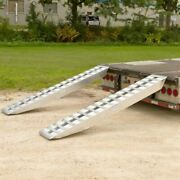 8and039 X 16 Step Deck Trailer Ramps 20000 Lb Double Pin-on Ends 20-16-096-02-02-l