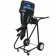 315lb 115hp Outboard Boat Motor Stand Carrier Cart Dolly