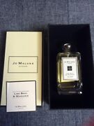 Jo Malone London Lime Basil And Mandarin 3.4oz / 100ml Cologne As Seen On Pictures